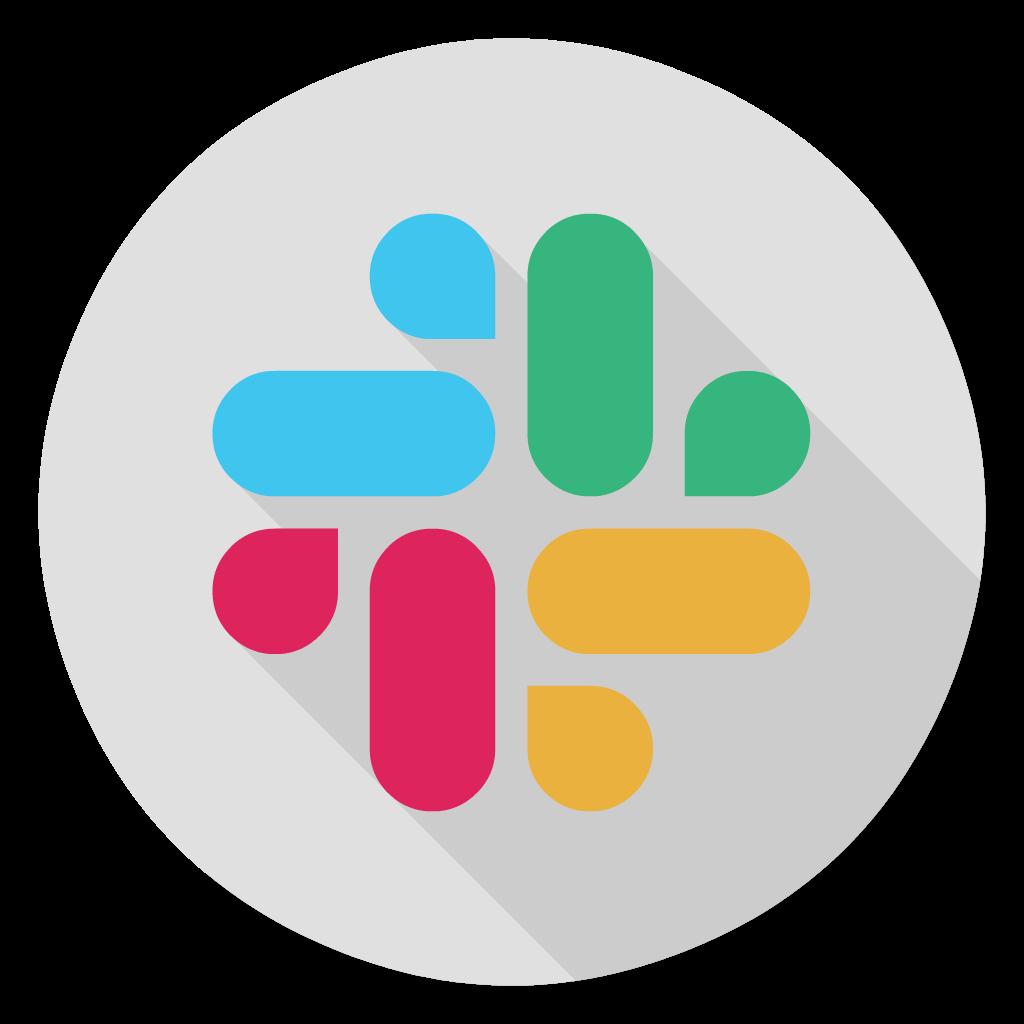 Slack flat icon