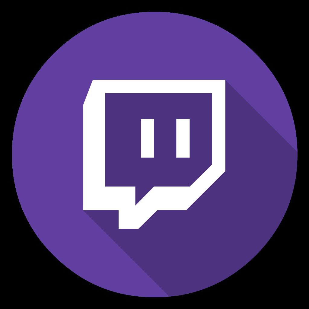 Twitch flat icon