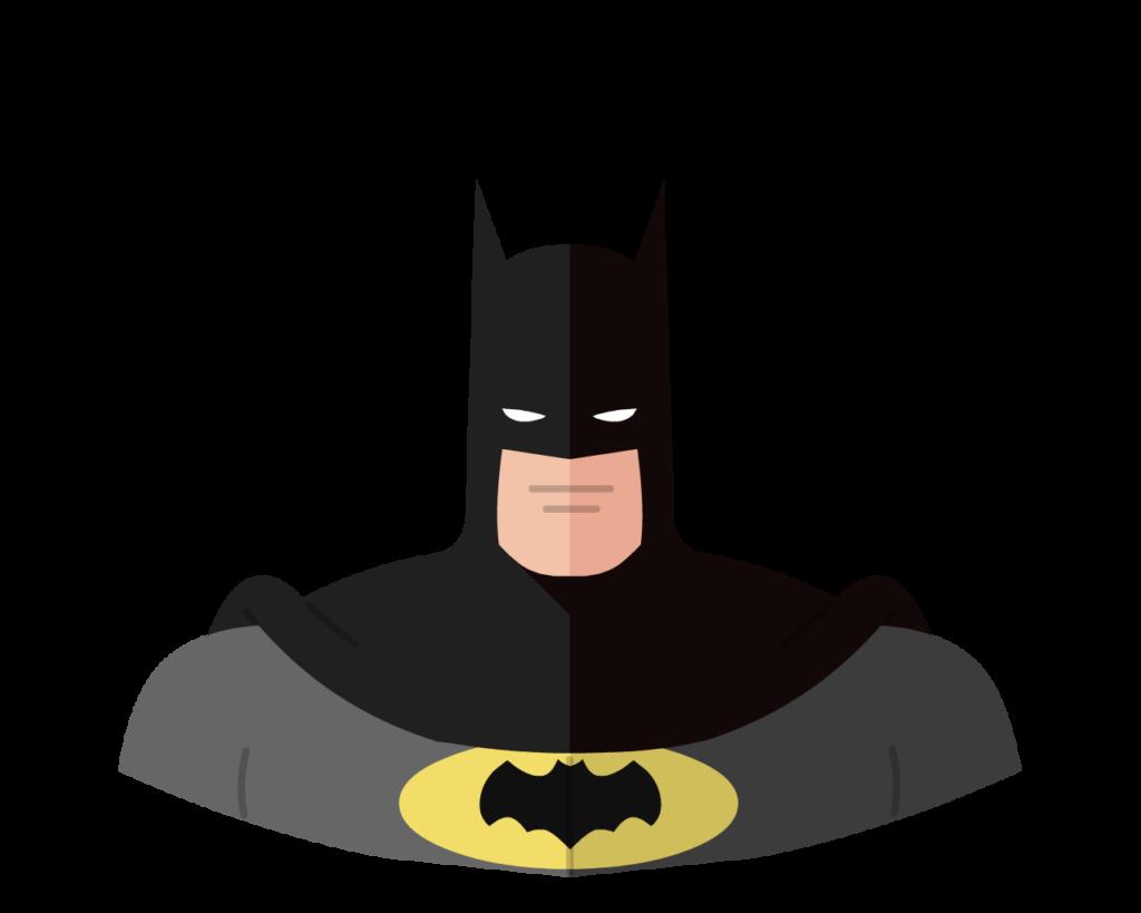 Batman flat icon
