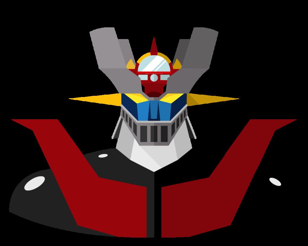 Mazinger z flat icon
