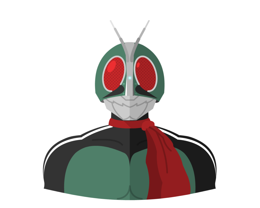 Kamen Rider flat icon