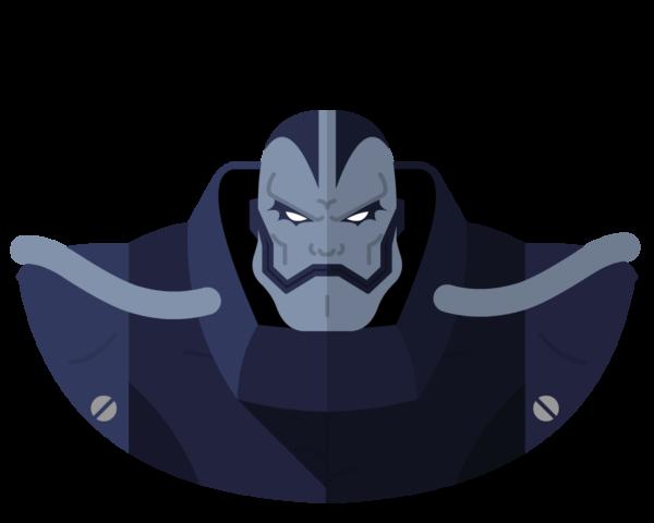 Apocalypse flat icon