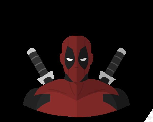 DeadPool flat icon