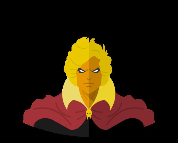 Adam Warlock flat icon