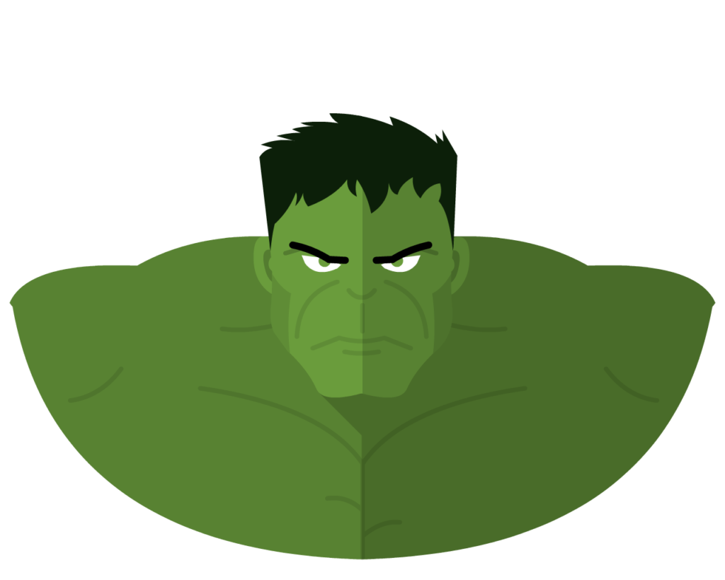 Hulk flat icon