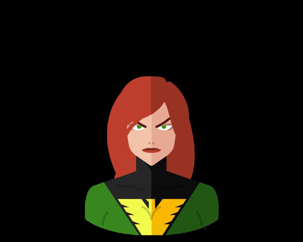 Phoenix flat icon