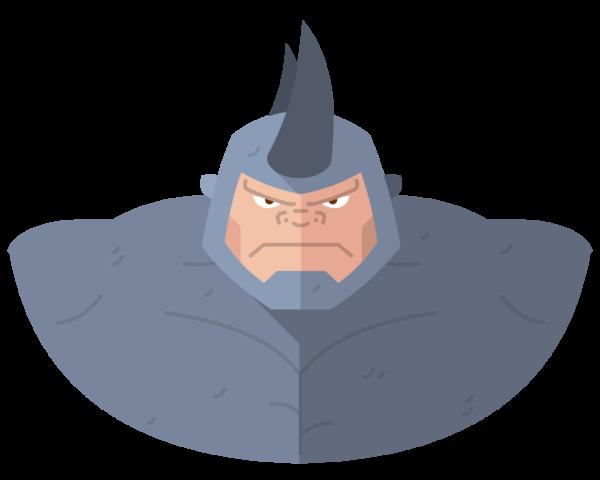 Rhino flat icon