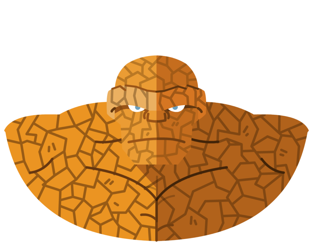 The Thing flat icon