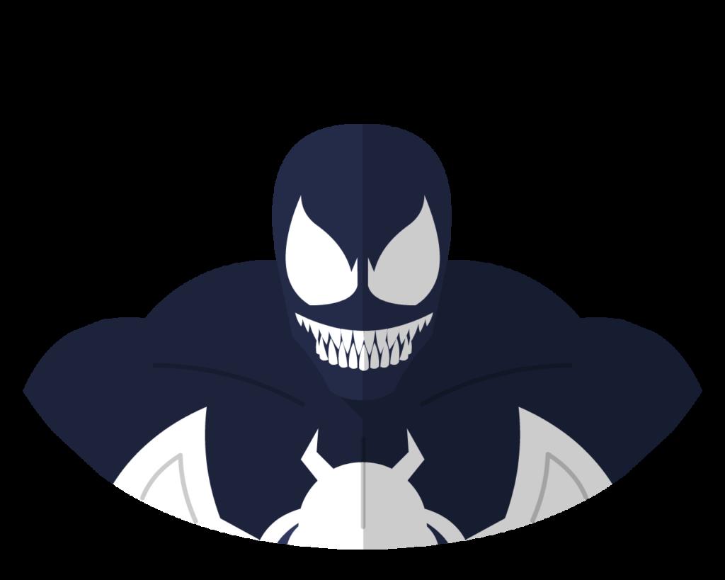 Venom flat icon