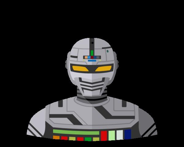 Space Sheriff Gavan flat icon