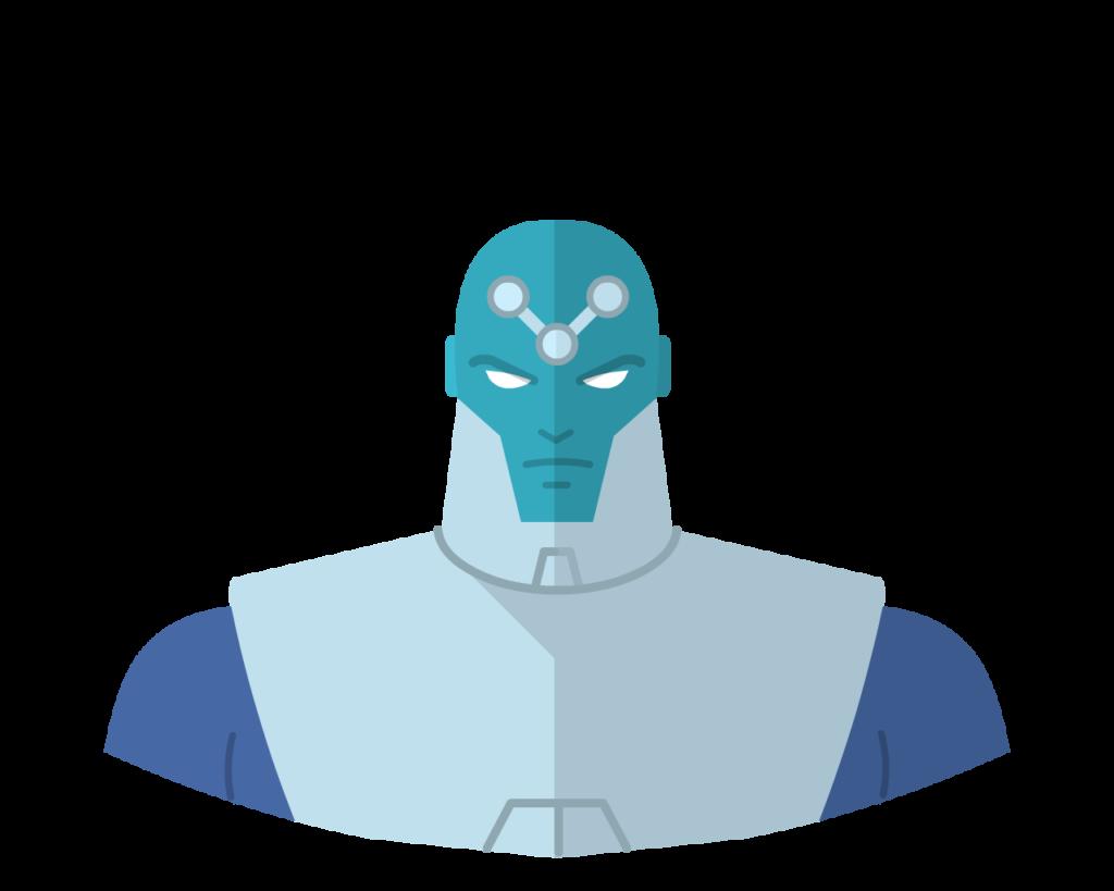 Brainiac flat icon
