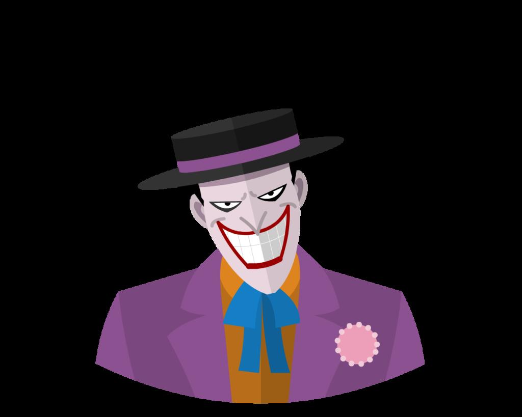Joker flat icon