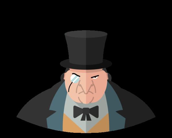 Penguin flat icon