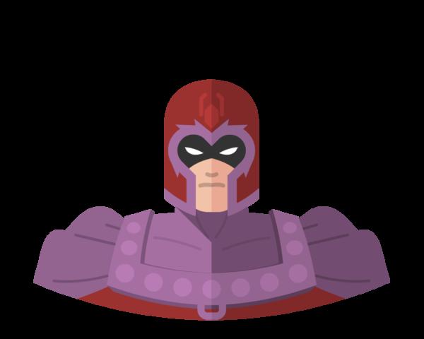 Magneto flat icon