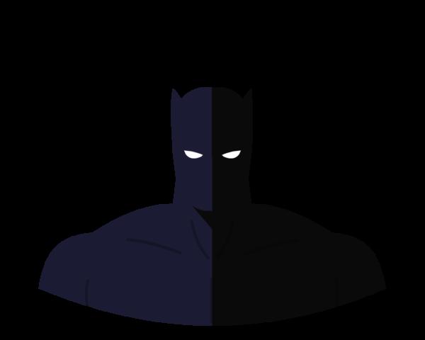 Black Panther flat icon