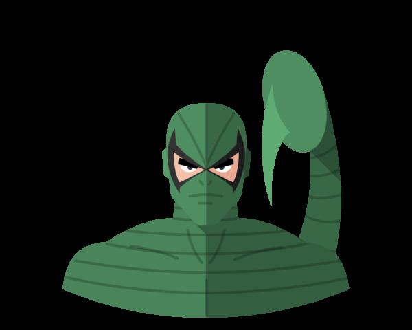 Scorpion flat icon