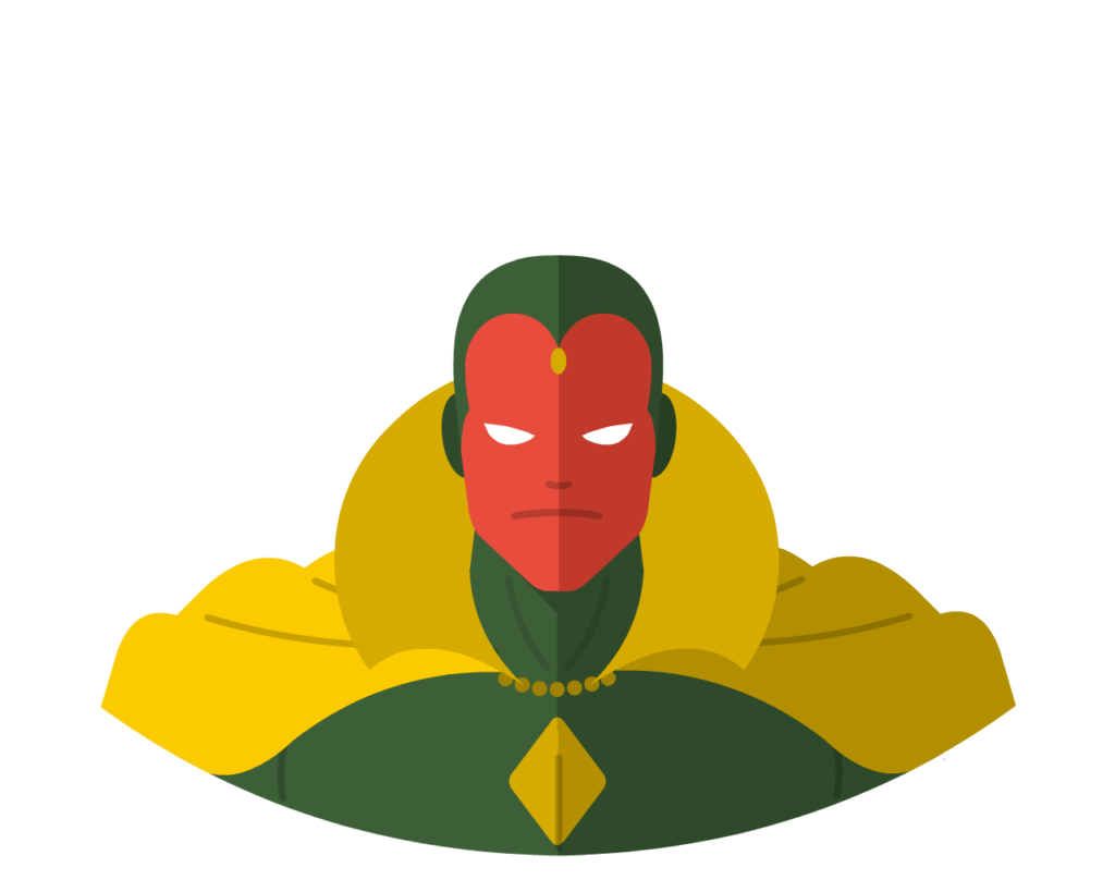 Vision flat icon