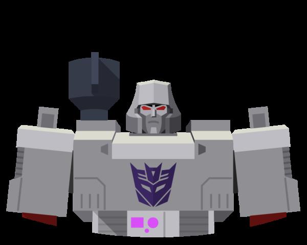 Megatron flat icon
