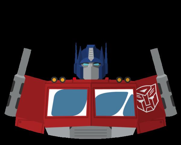 Optimus Prime flat icon