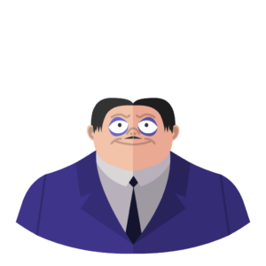 Gomez flat icon