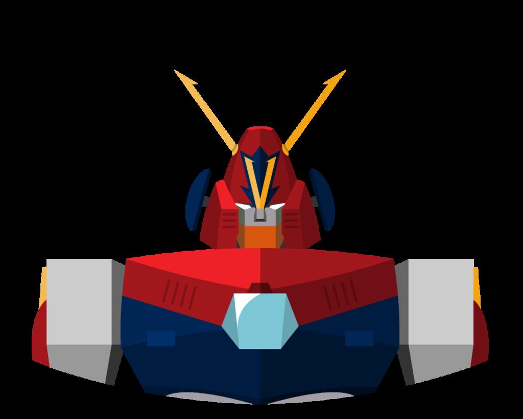 Combattler V flat icon