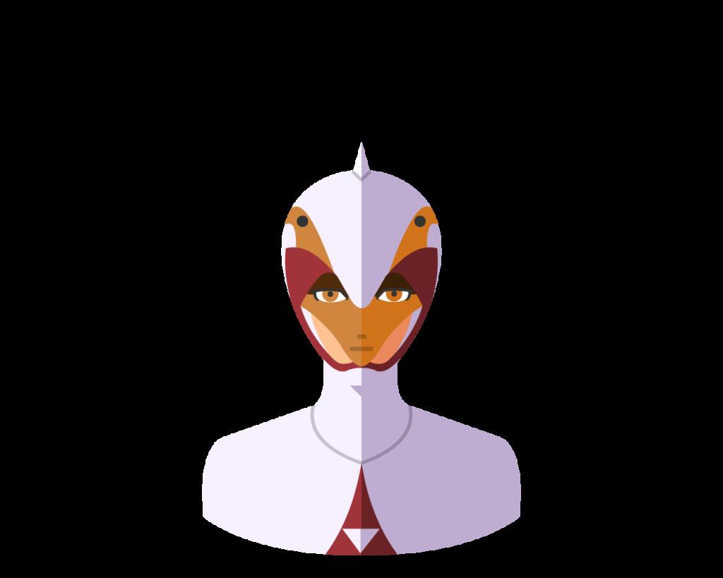 Swann flat icon