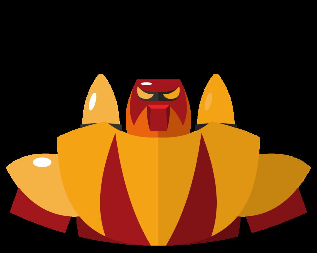 Poseidon flat icon