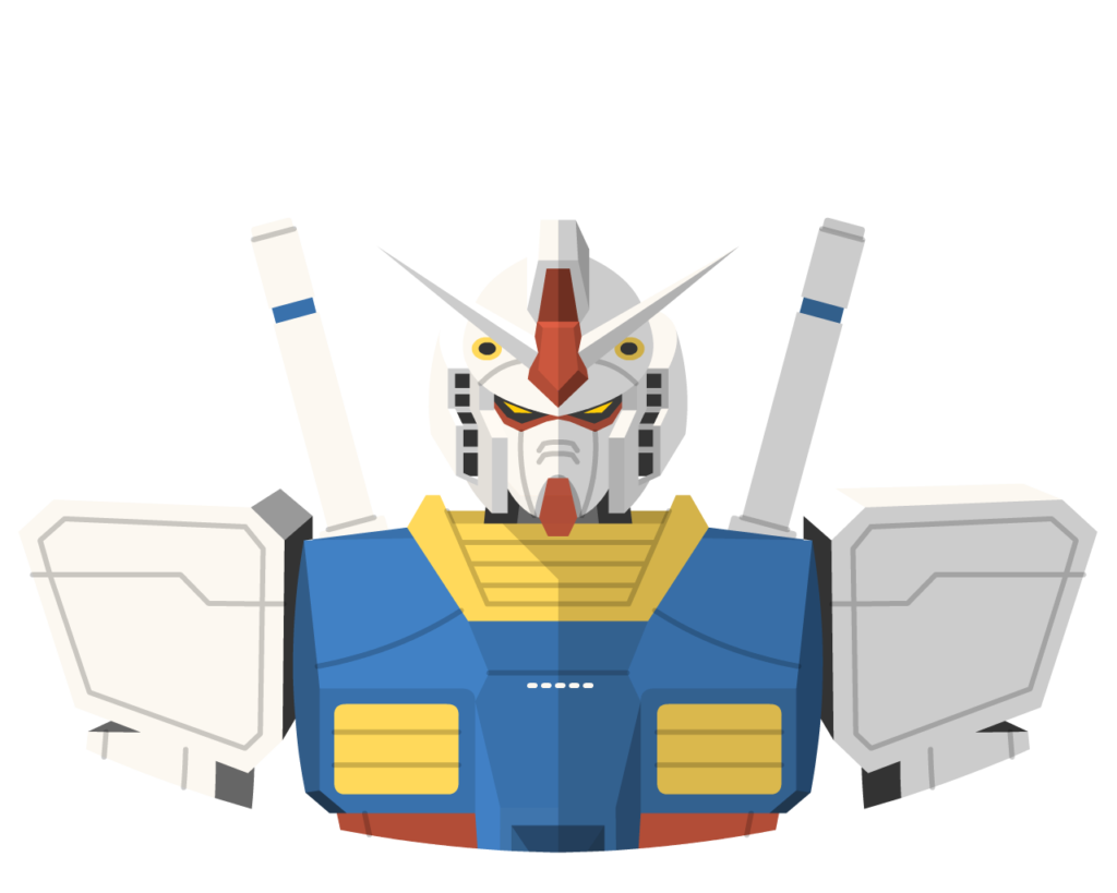 RX78-2 flat icon