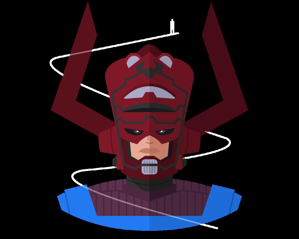 Galactus (SS Ver.) flat icon