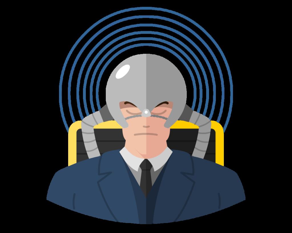 Professor X Cerebro Ver. flat icon