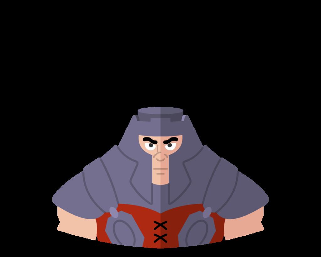 Ram-man flat icon