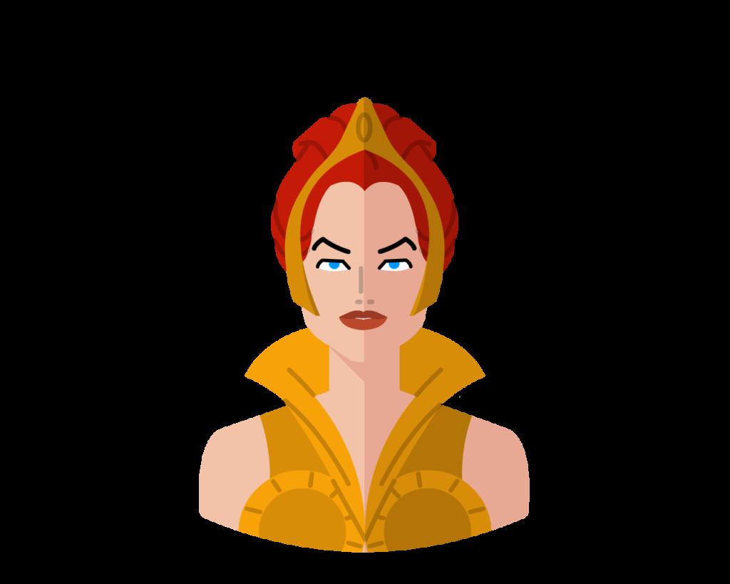 Teela flat icon