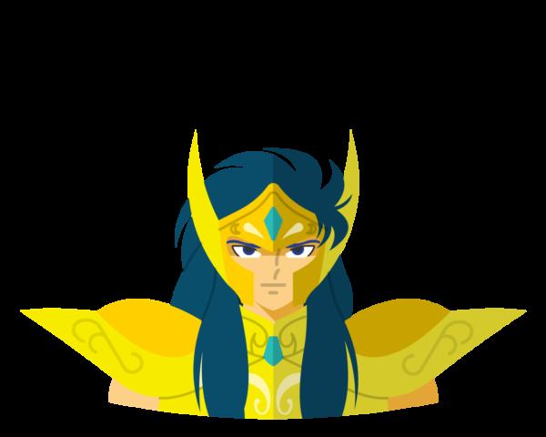 Gold • Aquarius flat icon