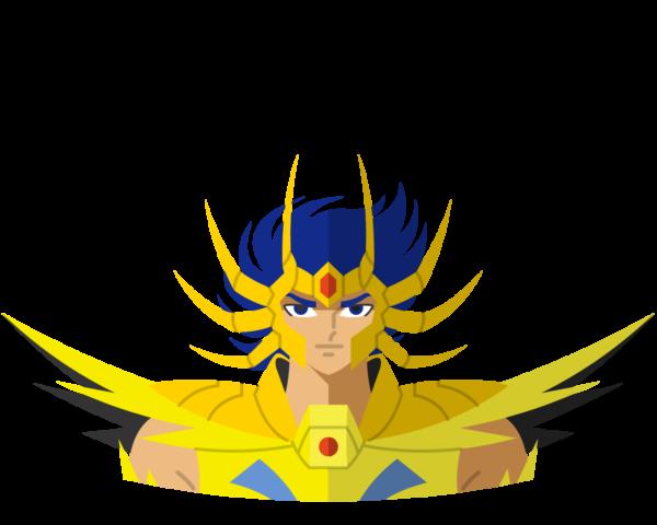 Gold • Deathmask flat icon