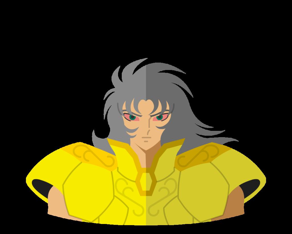 Gold • Gemini Evil Saga flat icon