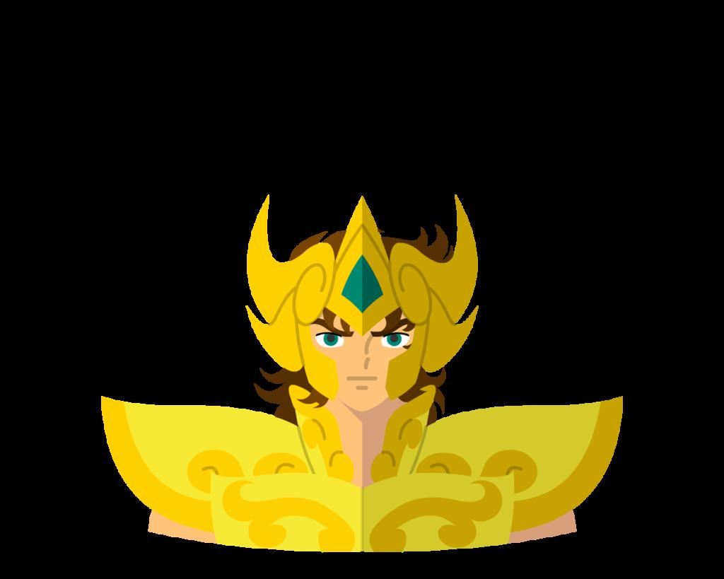 Gold • Leo flat icon