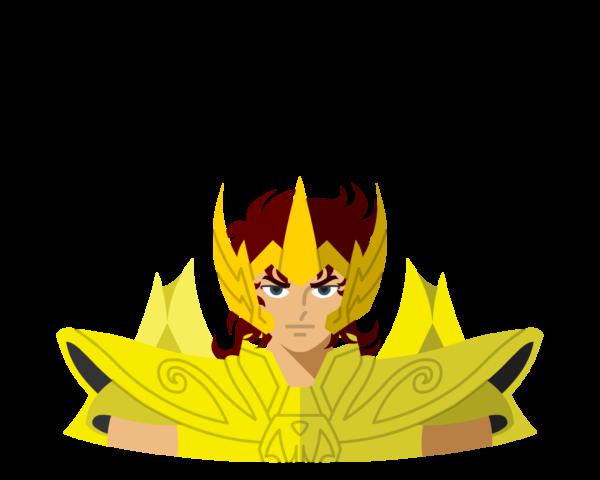 Gold • Sagittarius flat icon