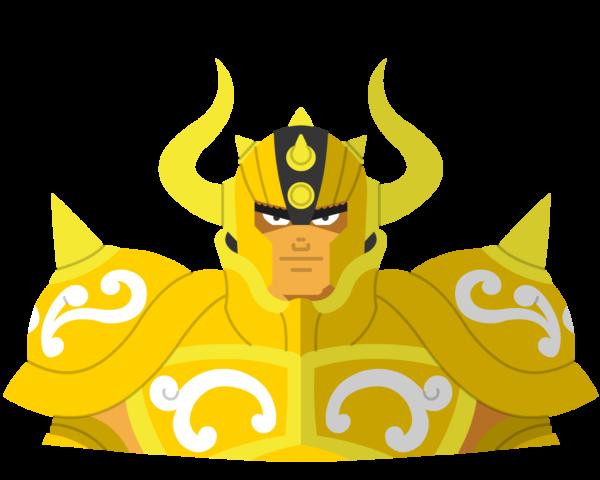 Gold • taurus flat icon