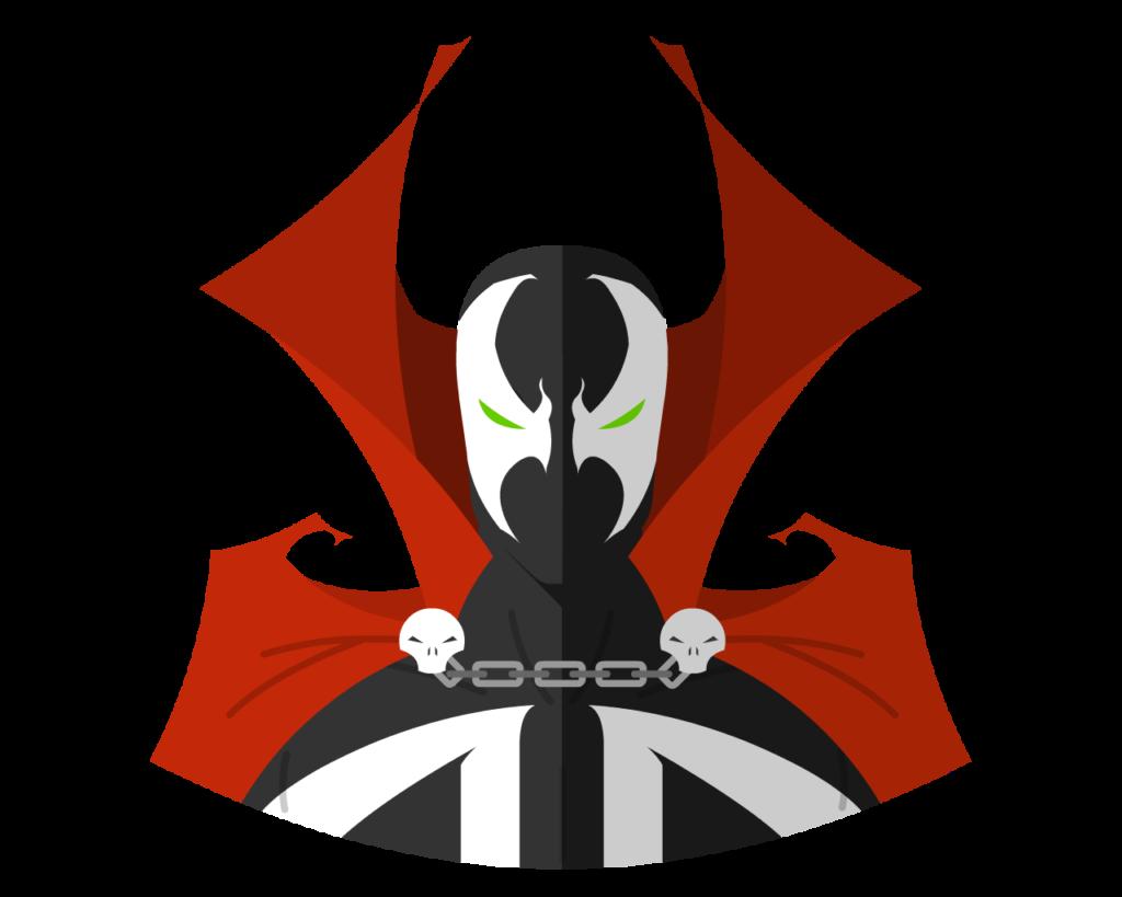 Spawn flat icon
