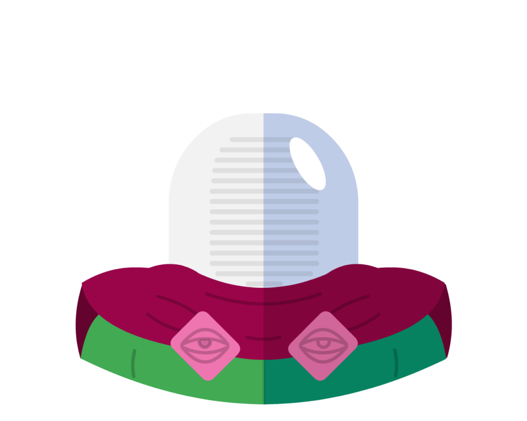 Mysterio flat icon