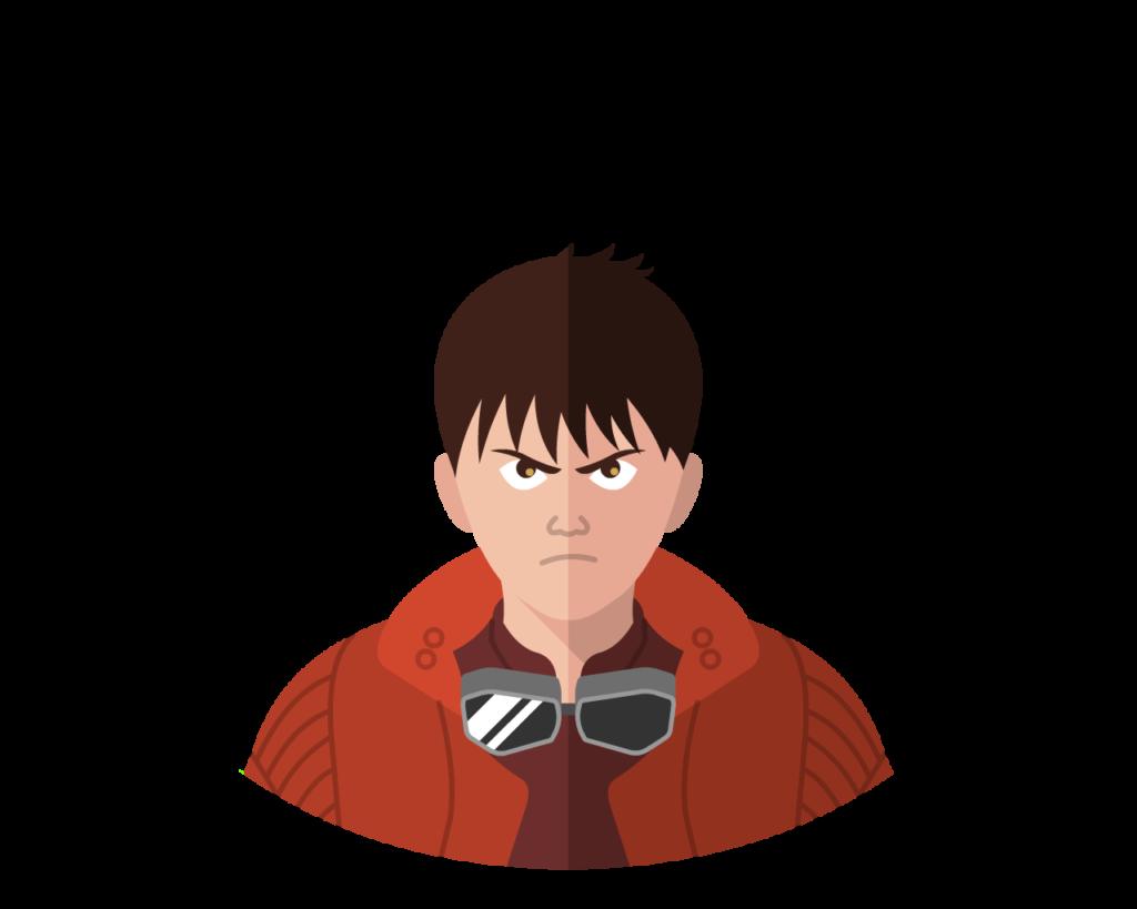 Kaneda flat icon
