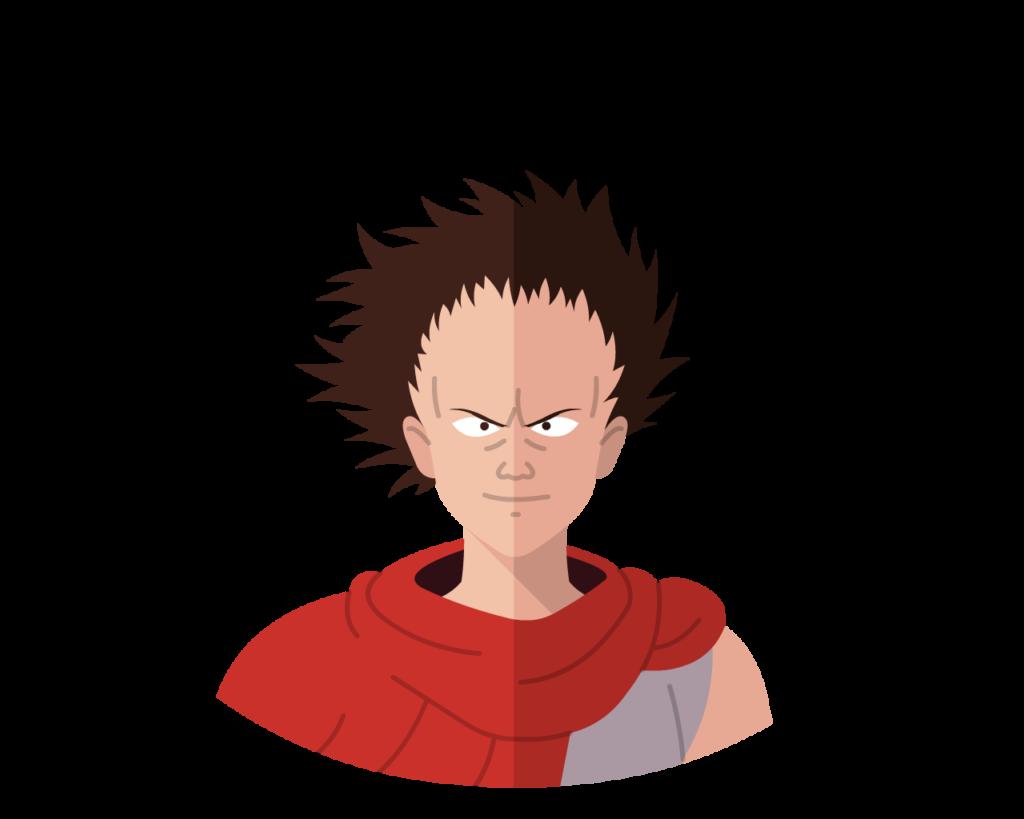 Tetsuo flat icon