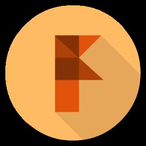 Autodesk Fusion 360 flat icon