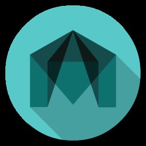 Autodesk Maya flat icon