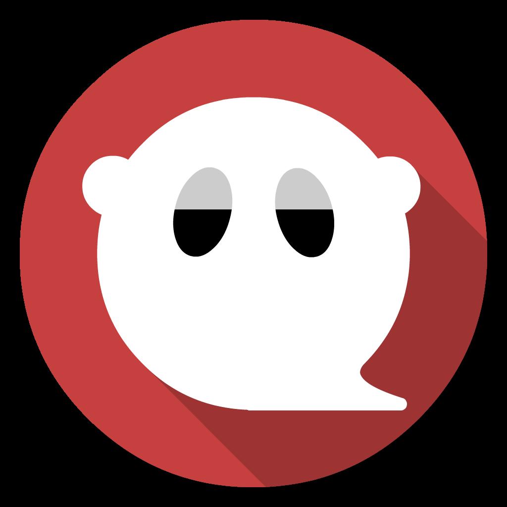 GhostWriter flat icon