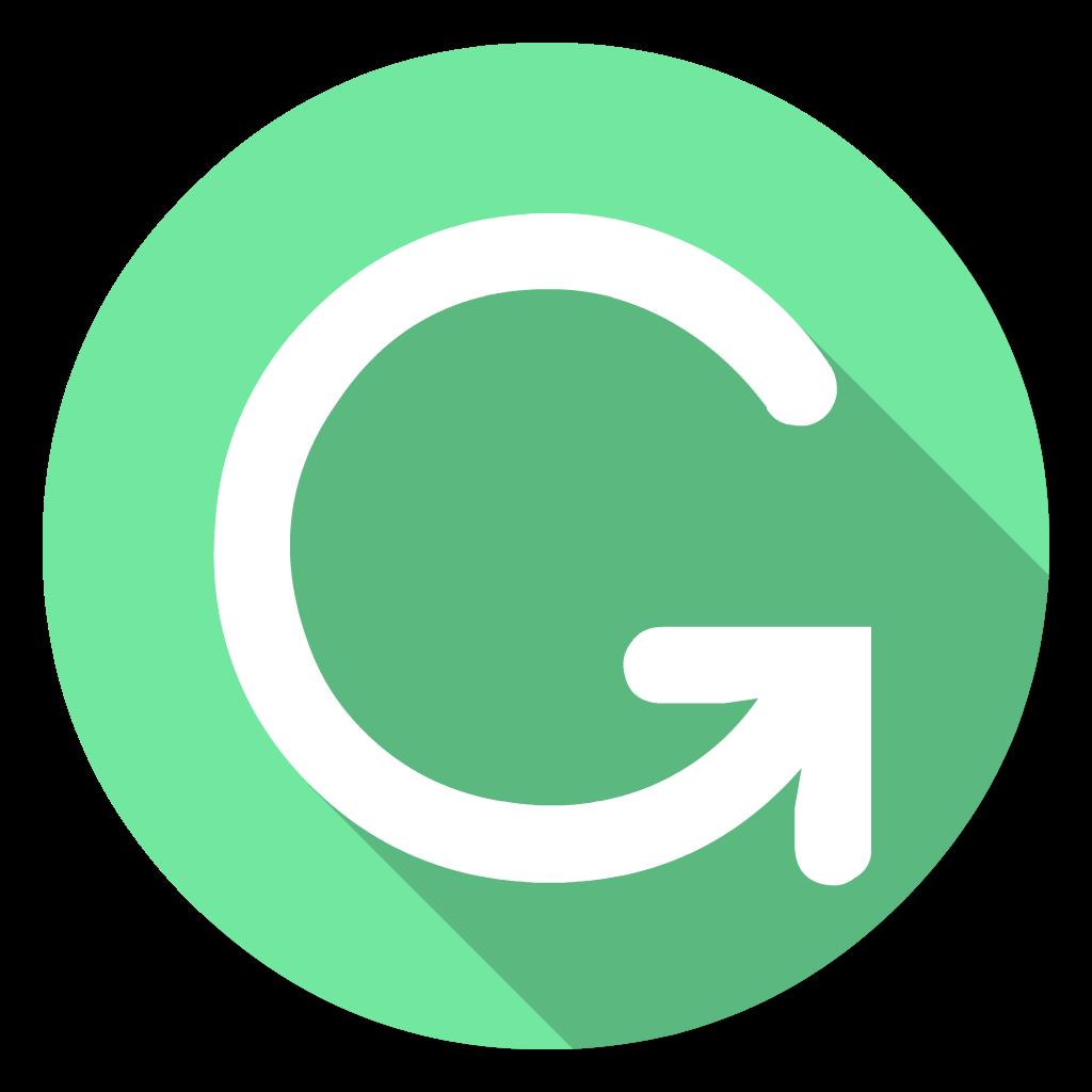Grammarly flat icon