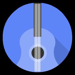 Guitar Pro flat icon