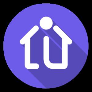 Indigodomo flat icon