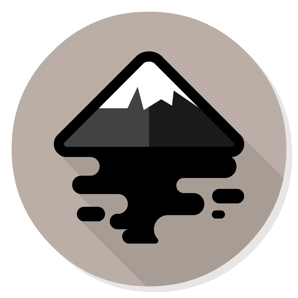 Inkscape flat icon