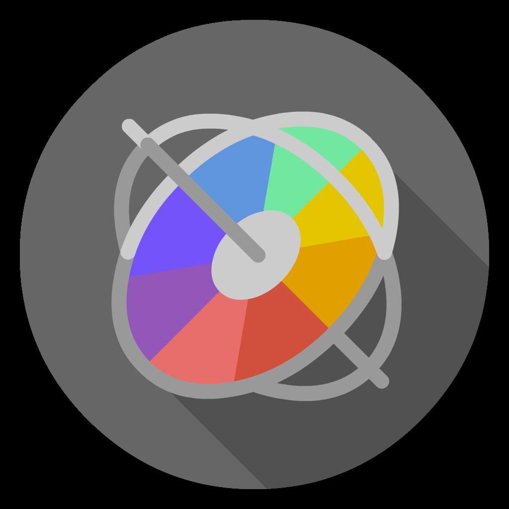 Motion flat icon